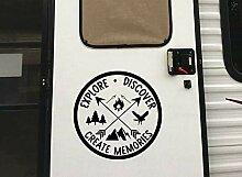 Wohnmobil-Aufkleber für Wohnmobil-Tür,