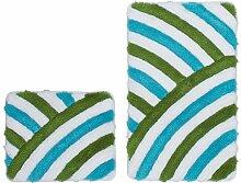 Wohnorama 55x135 Badezimmer Teppich in 2er Set