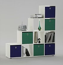 Wohnorama FMD Möbel MEGA 2 Regal für