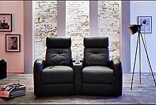 Wohnorama Houston 2er Fernsehsessel Cinema Sessel