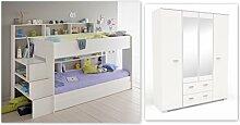 Wohnorama Kinderzimmer-Set 3-TLG inkl 90x200