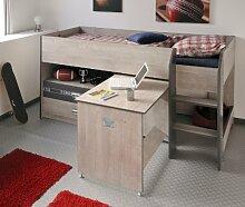 Wohnorama PARISOT Hochbett mit Schreibtisch