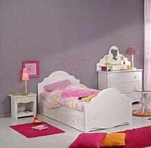 Wohnorama PARISOT Kindermöbel-Set, Weiss