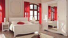 Wohnorama Schlafzimmer-Set 4-tlg inkl 160x200 Bett