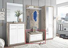 Wohnorama Sitzbank 2-TRG Garderobe Kolibri von