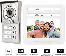 Wohnung/Familie Video-Türsprechanlage,