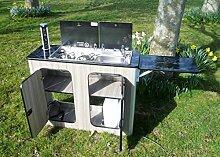 Wohnwagen-Küchen-Pod Wohnmobil Möbeleinheit für