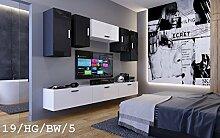 Wohnwand FUTURE 19 Moderne Wohnwand, Exklusive