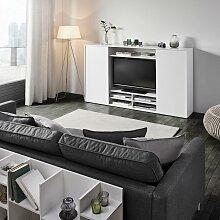 Wohnwand in Weiß 'Basic'