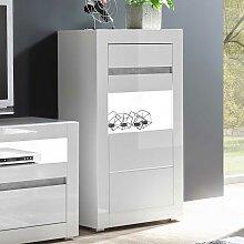Wohnwand Modern Hochglanz Gunstig Online Kaufen Lionshome