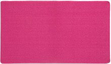 WOHNWOHL® Teppich Basic I Deko-Teppich I Schlingenteppich I Wohn-Teppich I Feinschlingen I Farbe Rosa