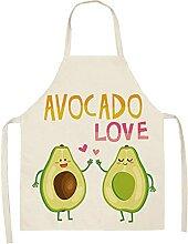Wohnzimmer AccessoiresSchürze, Avocado