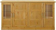 Wohnzimmer Anrichte aus Kiefer Massivholz