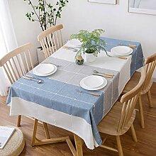 Wohnzimmer Baumwolle Leinen Tischdecke, Modernes