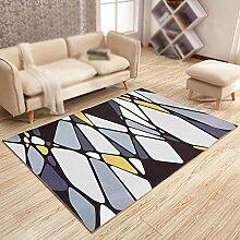 Wohnzimmer Bedruckter Teppich, Studie, Schlafzimmer, Balkon Wasserdichter rutschfester Teppich, Nachttischdecke, Foyer-Teppich , #4 , 140*200cm