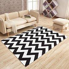Wohnzimmer Bedruckter Teppich, Studie,