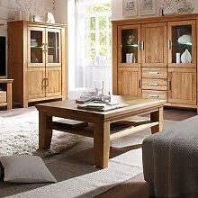 Wohnzimmer Couchtisch aus Wildeiche geölt