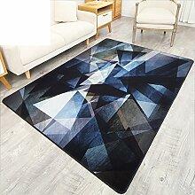 Wohnzimmer Couchtisch Schlafsofa Schlafzimmer Teppich/Eingang Veranda Tür Teppich-A 100x160cm(39x63inch)