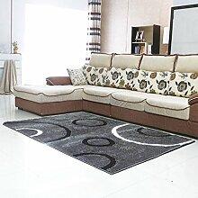 Wohnzimmer Couchtisch Schlafzimmer Teppich-Shop für europäische und amerikanische Art-140 × 200cm ( Farbe : B )