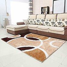 Wohnzimmer Couchtisch Schlafzimmer Teppich-Shop für europäische und amerikanische Art-140 × 200cm ( Farbe : E )