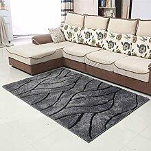 Wohnzimmer Couchtisch Schlafzimmer Teppich-Shop für europäische und amerikanische Art-140 × 200cm ( Farbe : F )