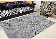 Wohnzimmer Couchtisch Teppich Bettwäsche Teppich elastische Seide Teppich 120 × 170cm ( größe : 120x170cm )