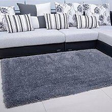 Wohnzimmer Couchtisch Teppich Schlafzimmer Nacht Teppich-Shop für europäische und amerikanische Art-140 × 200cm ( Farbe : Dunkelgrau )