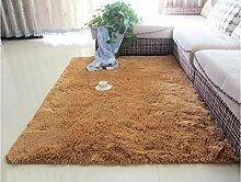 Wohnzimmer Couchtisch Teppich, Teppich, Schlafzimmer Vollbett Edge Decke, Zimmer Teppich, Haushalt Teppiche ( farbe : B , größe : 120×160CM )
