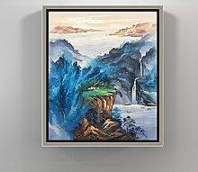 Wohnzimmer dekoration malerei/chinesisches restaurant hang painting/triptychon/eingang wandbilder/sofa-wandfarbe/malerei-C 50x60cm(20x24inch)