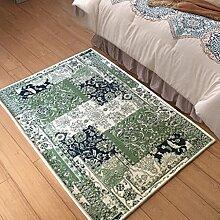 Wohnzimmer Foyer Pad Pastoral Couchtisch Bett Nacht Teppich 76 * 120CM Aktive Färbung Umwelthautfreundlich