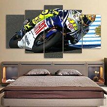 Wohnzimmer HD Gedruckt Malerei Wandkunstwerk 5