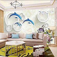 Wohnzimmer Hintergrundwand 3D dreidimensionales