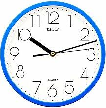 Wohnzimmer kreative Bewegung Quartz Wand Uhr springen Sekunden Tabelle 9 Zoll