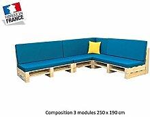 Wohnzimmer Palette 3Module