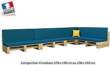 Wohnzimmer Palette 4Module