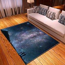 Wohnzimmer Rutschfester Teppich,Scenery Print