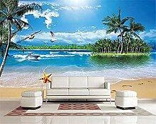Wohnzimmer Schlafzimmer 3D Wallpaper Meer Coco