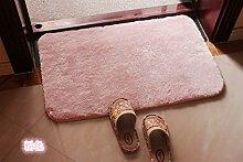 Wohnzimmer-schlafzimmer-matten,Badezimmer Matte,Anti-rutsch-matte,Sanitär Saugkissen,Erker-mat-D 50x120cm(20x47inch)