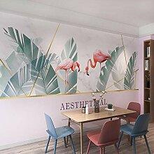 Wohnzimmer schlafzimmer tapete tropische flamingo