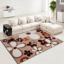 Wohnzimmer Schlafzimmer Teppich Kaffetisch Teppich verdicken Muster Studie Bedside Teppich , B , 500mm x 800mm