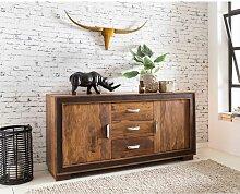 Wohnzimmer Sideboard aus Sheesham Massivholz