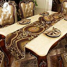 Wohnzimmer table flag/table runner stoff in der tabelle/bett-runner/tee tischläufer-D 34x180cm(13x71inch)