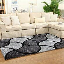 Wohnzimmer Teppich Bedside Bettvorleger Teetisch Teppich Balkon Piaoyuang 120 × 170cm ( größe : 120 × 170cm )