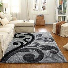 Wohnzimmer Teppich Bedside Bettvorleger Teetisch Teppich Balkon Piaoyuang 120 × 170cm ( größe : 140 × 200cm )