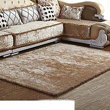 Wohnzimmer-Teppich/Einfache Couchtisch Sofa moderner Teppich/Bettdecke/Schlafzimmer Teppich-L 160x230cm(63x91inch)