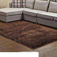Wohnzimmer-Teppich/Einfache Couchtisch Sofa moderner Teppich/Bettdecke/Schlafzimmer Teppich-J 140x200cm(55x79inch)