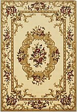 Wohnzimmer Teppich Europäischen Sofa Couchtisch Nachtnacht rechteckigen Ausschnitt Blumenteppich Moistureproof Breath Staub Flammhemmende Schallreduzierende Verschleißwider