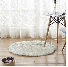 Wohnzimmer Teppich Hause Nachahmung Wolle Runde