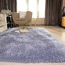 Wohnzimmer Teppich Sofa Couchtisch Teppich Nachtnacht Stretch Silk Teppich 120 x 170cm ( größe : 120 × 170cm )