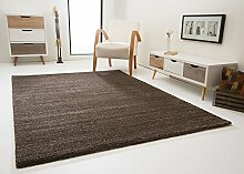 Wohnzimmer Teppich Tours mit Kurzflor weich und